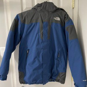 The North Face Boys Blue Hyvent Coat